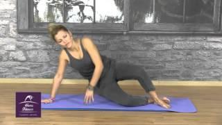 online γυμναστική από το σπίτι Pilates με τη Μαίρη