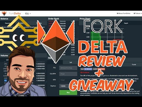 How To Use ForkDelta | Buy ERC20 Tokens | Full Review + Giveaway
