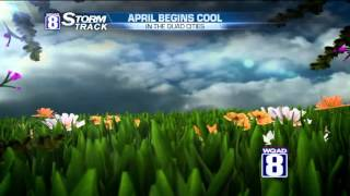 StormTrack 8 Morning Forecast April 1, 2016