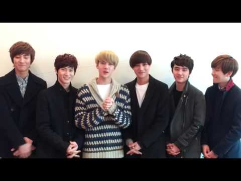 2013 Happy new year from EXO-K