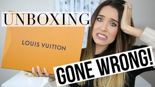 LOUIS VUITTON UNBOXING GONE WRONG | Shea Whitney