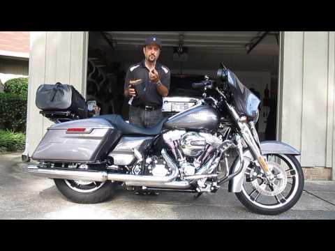 Harley Davidson Street Glide MOTORCYCLE CAMPING