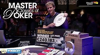 Master Classics Of Poker 2018 Youtube