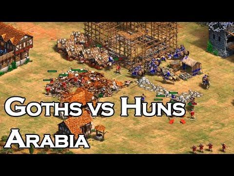 Goths Vs Huns   Arabia