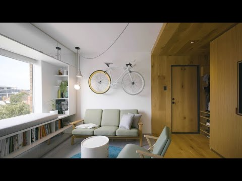 Never Too Small Ep 10 35m2 Tiny Apartment Design Type Street Apartment Youtube