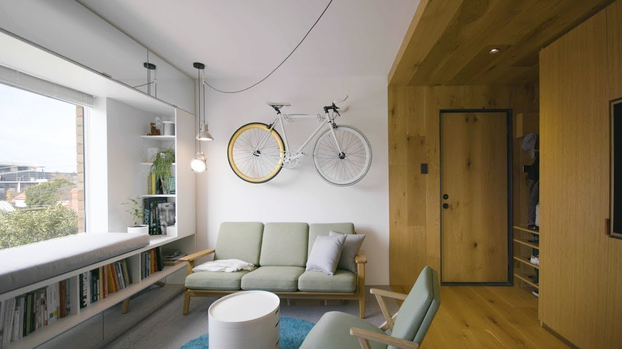Never Too Small Ep 10 35m2 Tiny Apartment Design Type