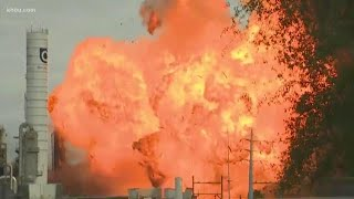 Second explosion at TPC chemical plant in Port Neches