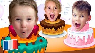 Joyeux Anniversaire | Chanson pour enfants et Comptines Bebé - Cinq Enfants