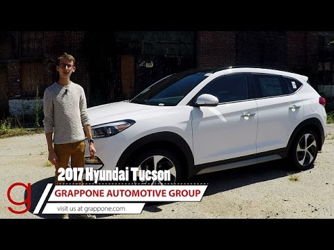2017 Hyundai Tucson Limited 1 6t Awd Road Test Review