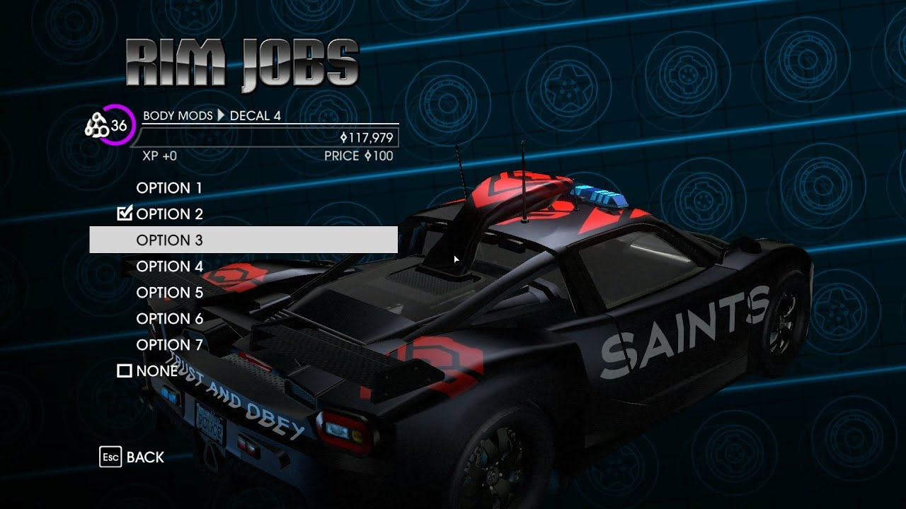 Saint Row  Cars Pictures