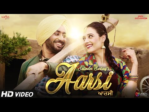 Aarsi The Mirror  Satinder Sartaaj  Jatinder Shah  Love Songs  New Punjabi Songs  Saga Music