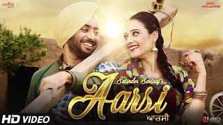 Aarsi (The Mirror) - Satinder Sartaaj | Jatinder Shah | Love Songs | New Punjabi Songs | Saga Music