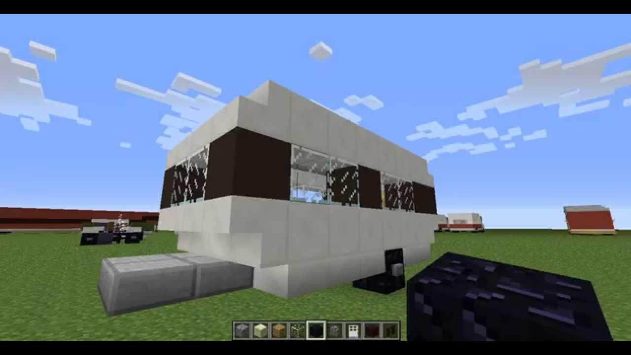 Майнкрафт как сделать дом на колесах фото 726