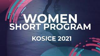 Veronika Zhilina RUS WOMEN SHORT PROGRAM Kosice Week 3 2021 JGPFigure