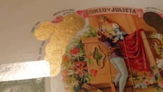 Romeo y Julieta #1 unboxing