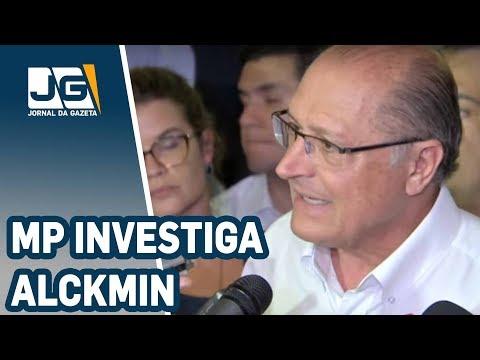 MP investiga Alckmin por improbidade