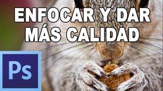 Cómo enfocar y dar nitidez a una fotografía - Tutorial Photoshop en Español