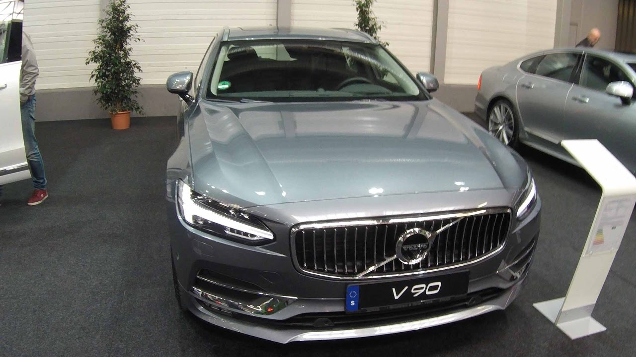 VOLVO V90 COMPILATION 2: WHITE AND GREY COLOUR !! WALKAROUND AND INTERIOR !! - YouTube