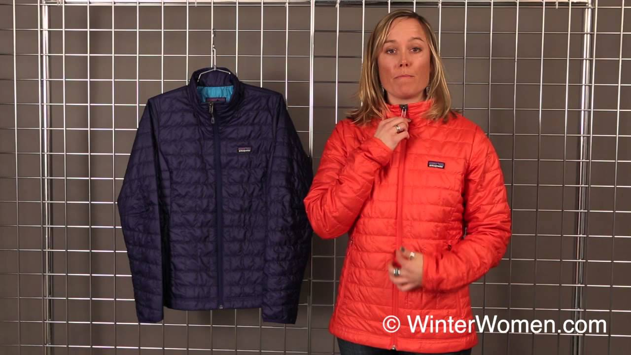 2013 2014 Patagonia Women S Nano Puff Jacket Youtube