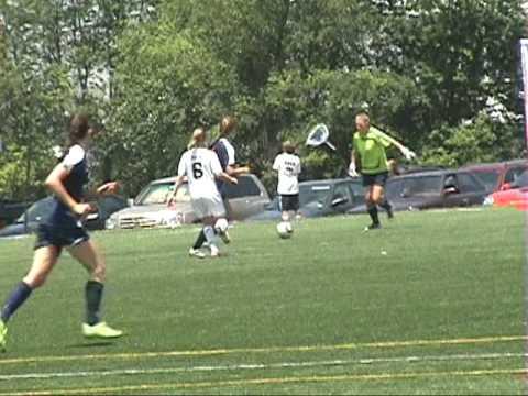 Caroline Grosso - soccer video