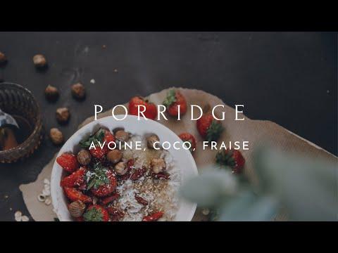 PORRIDGE NOIX DE COCO ET SIROP D'ÉRABLE