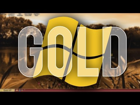 Gold Windows XP 2016 - Overview & Installation
