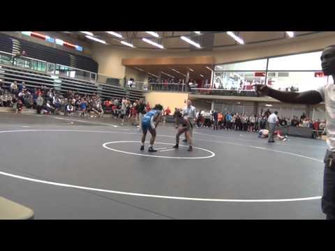 2014 SFU International 53 kg Franchesca Ybarra vs Nikki Brar