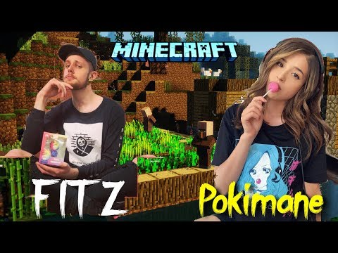 Pokimane and Fitz most Popular Minecraft clips