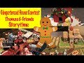 Thomas amp Friends Gingerbread Making Contest with the Thomas and Friends minis toy trains