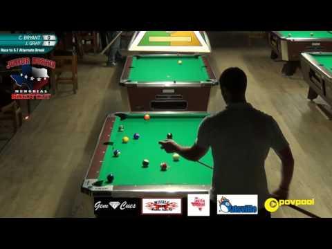 #8 - Charlie 'Hillbilly' BRYANT vs Joey GRAY - Norris 8-Ball •2017