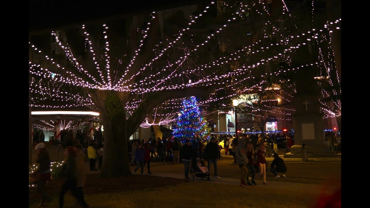 St Augustine Lights Nights Of Lights Holiday Lights Festival St. Augustine, FL 2017