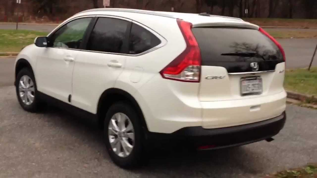 2012 Honda CR V EX L AWD Review, Walk Around, Start Up, Quick Drive    YouTube