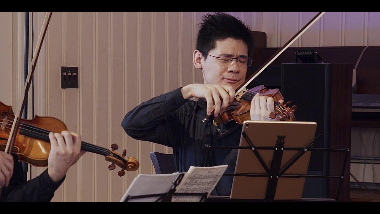 Shanghai Quartet – Dvořák: String Quartet in A-flat Major, III. Lento e molto Cantabile