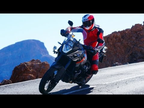 KTM 1190 Adventure Test. Mit Interviews & Actionszenen