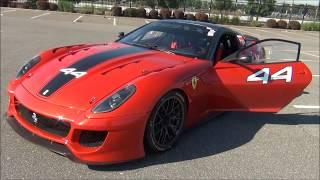 !!! LOUD REVS & ACCELERATIONS !!! Ferari 599xx Evo / Ferrari 599xx / Ferrari LaFerrari