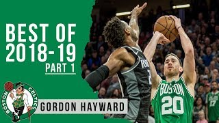 Gordon Hayward Highlights 2018/19 NBA Regular Season PART 1