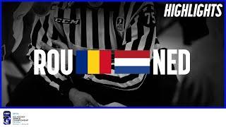Romania vs. Netherlands | Highlights | 2019 IIHF Ice Hockey World Championship Division I Group B