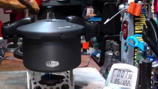 GSI Halulite Pressure Cooker - Cooking Rice