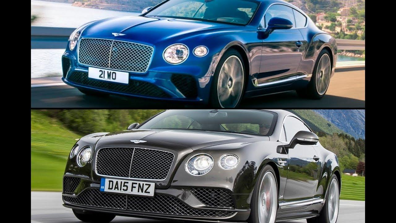 New 2018 Bentley Continental GT Coupe vs. Old Bentley ...