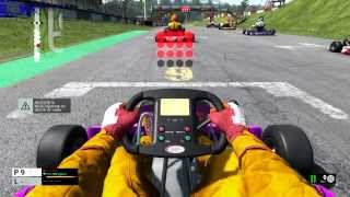 PROJECT CARS KARTING HELMET CAM PC PS4 XONE GAMEPLAY