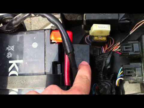 SOLVED: 2005 Yamaha YZF-R6 byp the starter relay - Fixya on