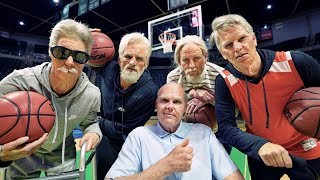 Old School Trick Shots | Dude Perfect | HIGHLIGHTS