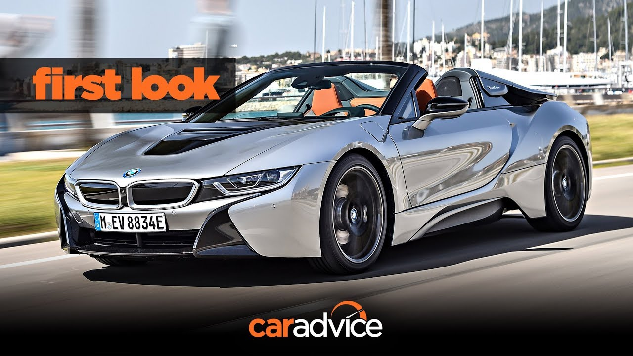 Bmw I8 Roadster Launch First Look Youtube