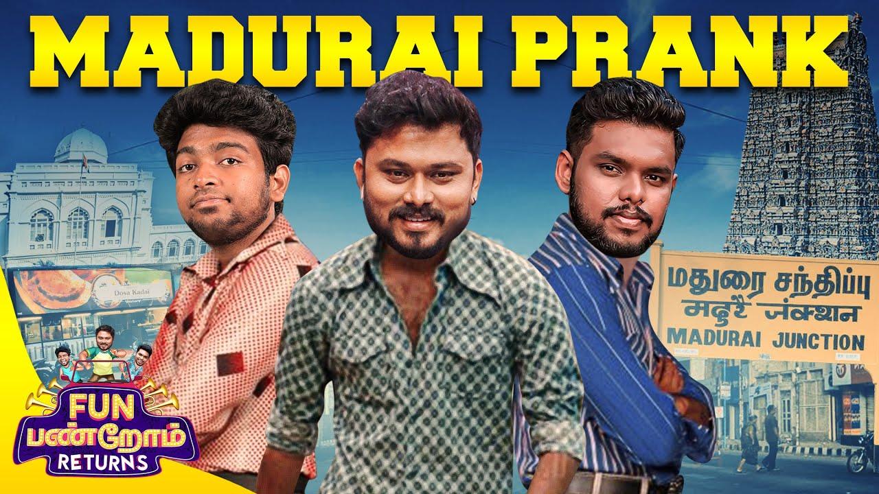 Madurai Prank | Fun Panrom Returns | Vj Siddu , Settai Sheriff & Harshath Khan | Blacksheep