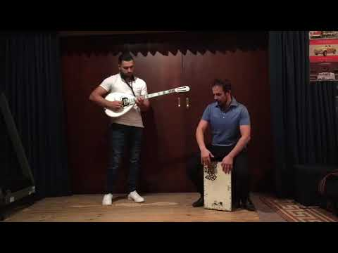 Jamming with my friend Byron Mark on Cajon, fusing bouzouki with some modern running grooves. Enjoy