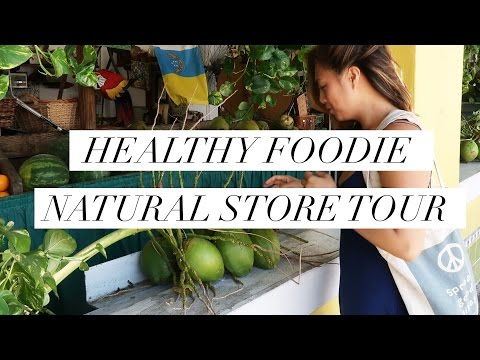 Healthy Foodie Store Tour! Organic Foods, Sustainable Fashion & Kombucha at Food & Thought, Florida