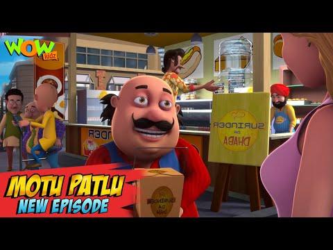 Motu Patlu New Episodes   Meals On Wings   Funny Stories   Wow Kidz