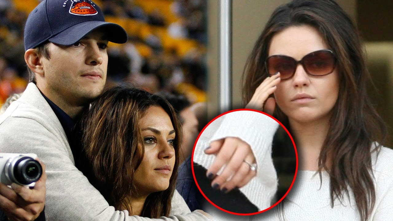 Ashton Kutcher Mila Kunis Officially Engaged Get All The Deets You