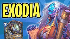 NEW Exodia Mage is ACTUALLY OVERPOWERED! | Stargazer Luna | The Boomsday Project | Hearthstone