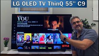"LG OLED TV ThinQ AI 55"" C9 otro nivel de TV - REVIEW"
